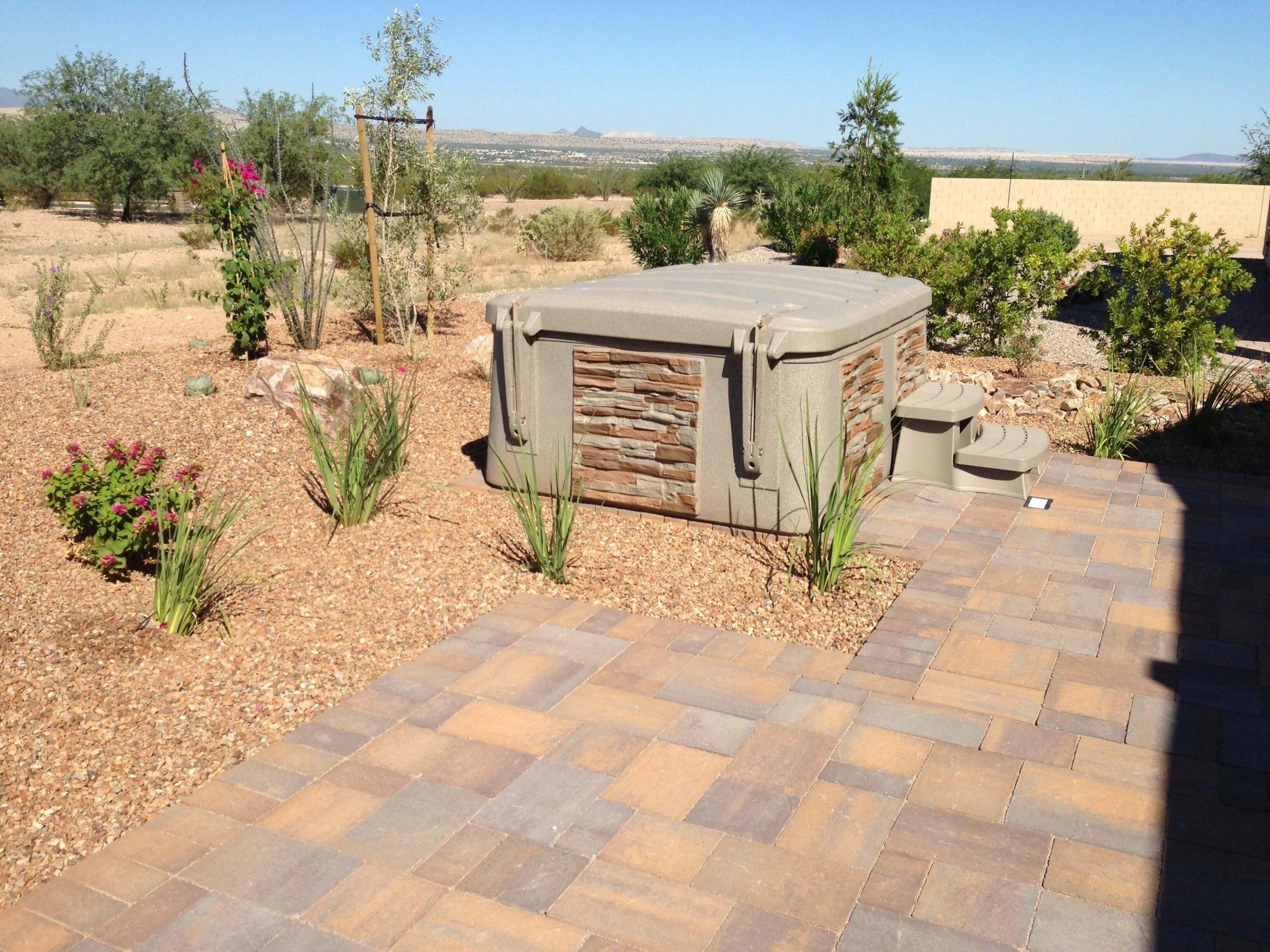 tuff spas desert landscape